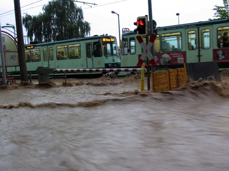 Hochwasserschutz in Alfter