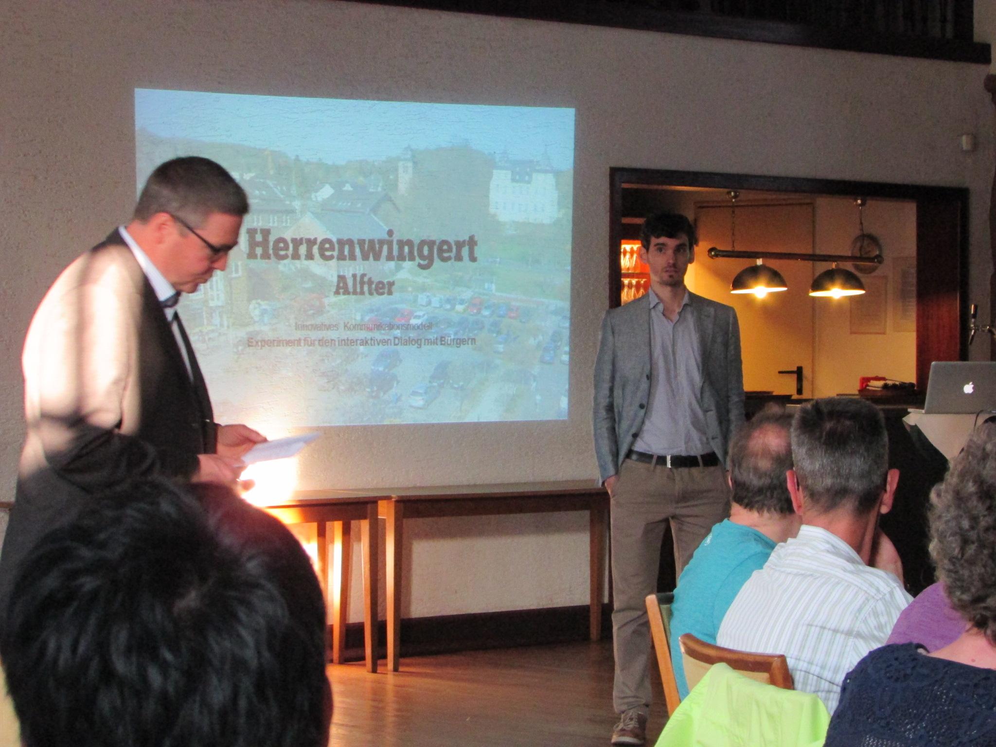"Workshop ""Umgestaltung Herrenwingert"""