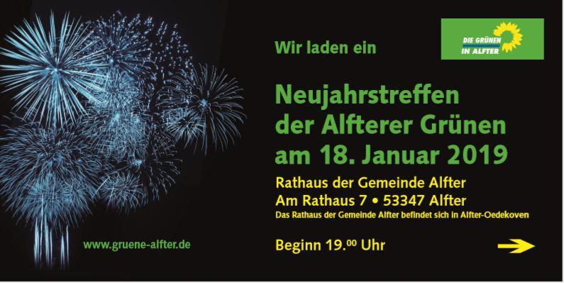 Einladung zum Neujahrstreffen: Erinnerung