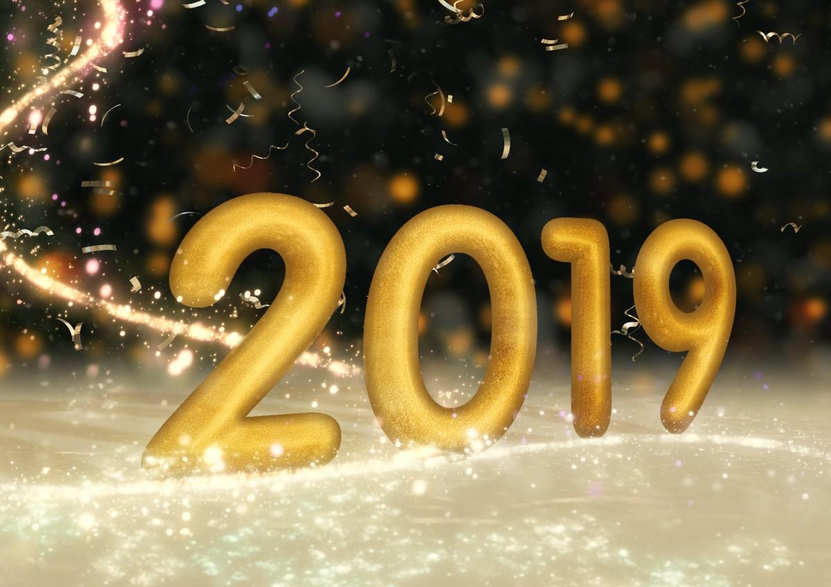 Euch allen ein glückliches 2019