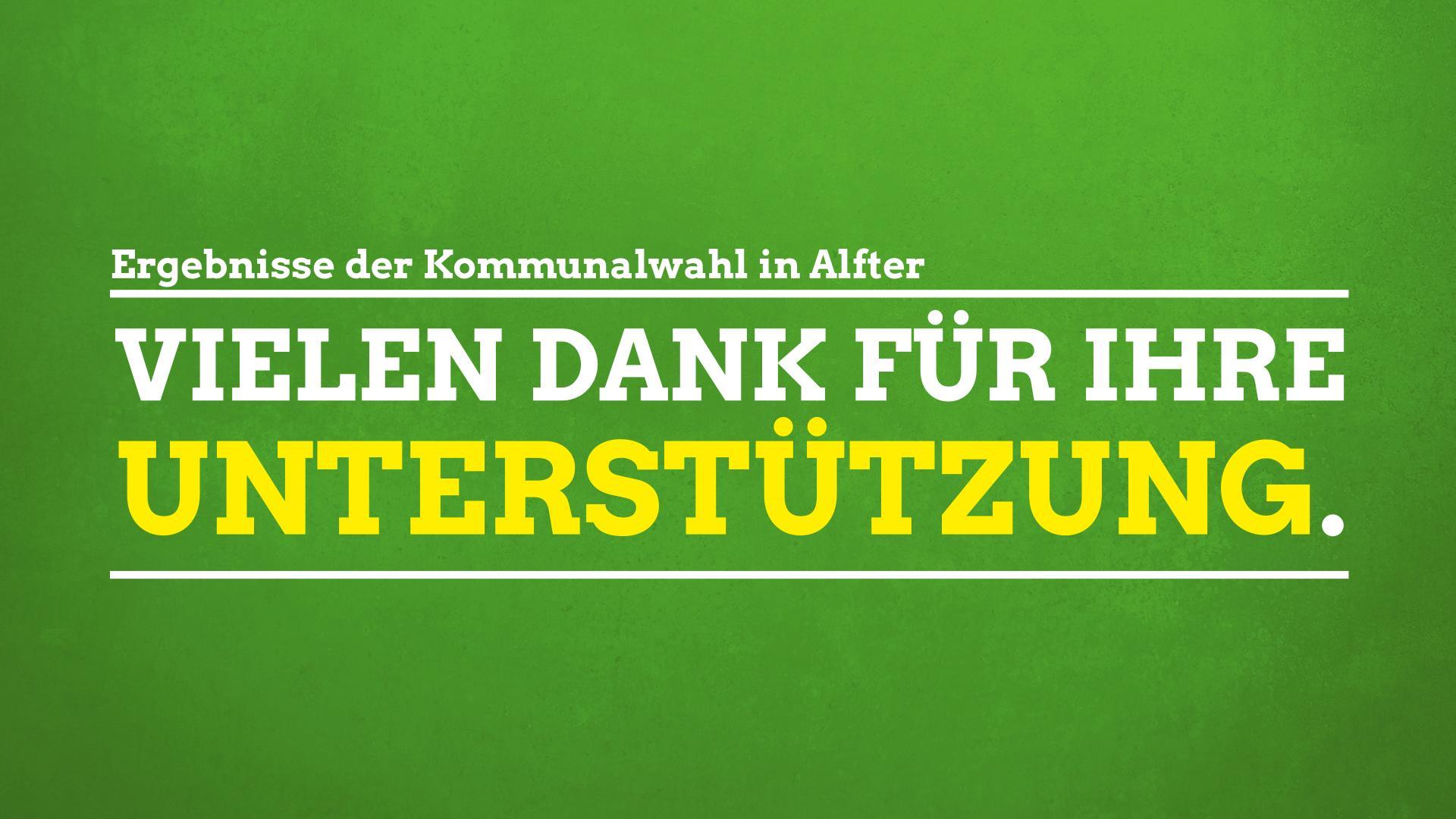 Grüner Erfolg in Alfter