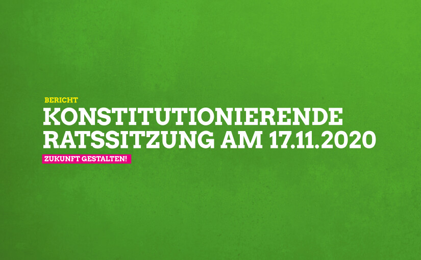 Ratssitzung am 17.11.2020