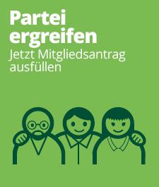 Mitglied werden bei den Grünen