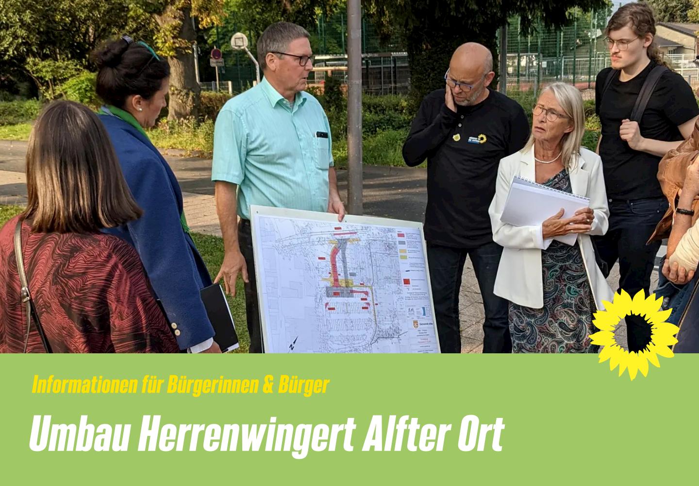 Umgestaltung des Herrenwingert in Alfter-Ort